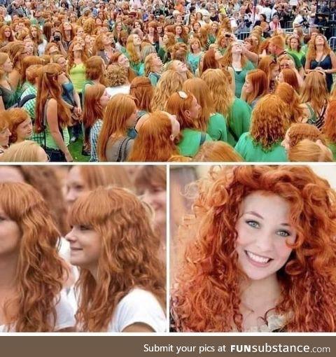 Redhead Festival in Dublin,Ireland