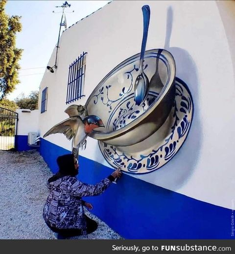 By Portuguese Artist Sérgio Odeith