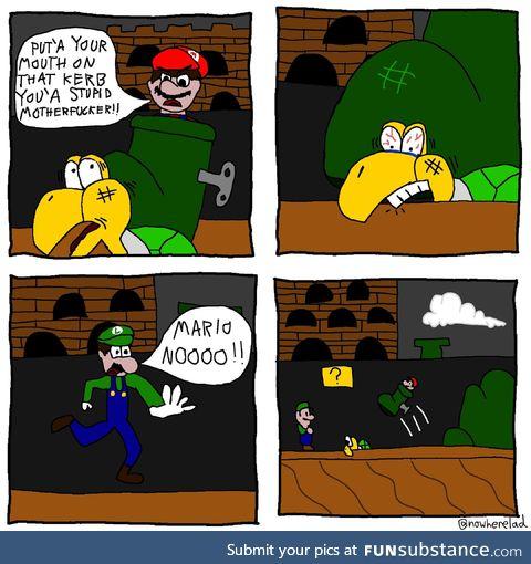 Mario no!
