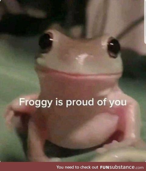 Froggo Fun #389 - No Matter What