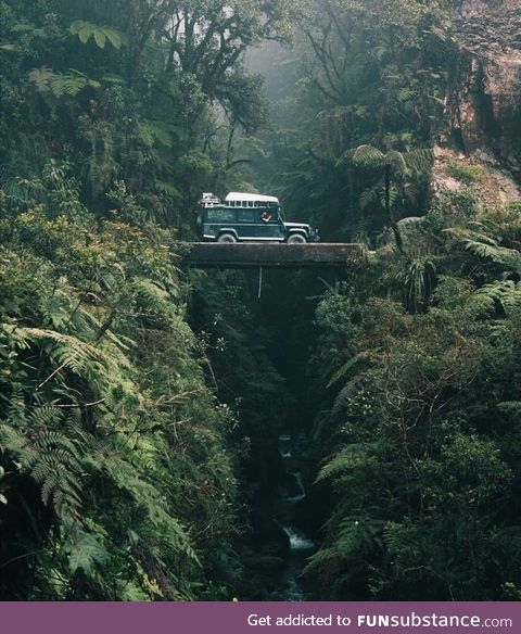 Called Death Way, one of the most dangerous roads in the world, is located in Bolivia