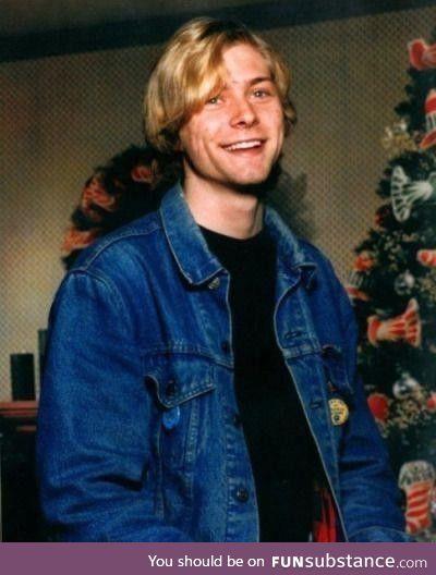 Teenage kurt cobain, christmas 1986