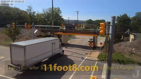 My favourite Truck Eating bridge