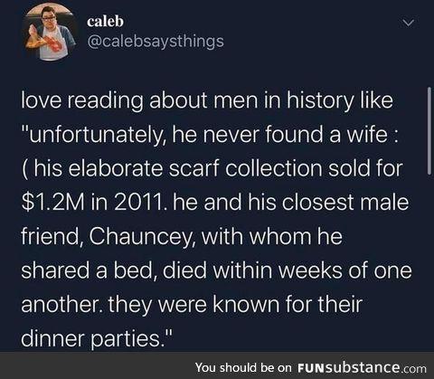 Men in history