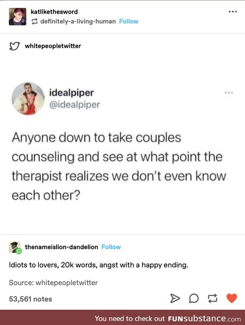 Couples therapy is unhealthy