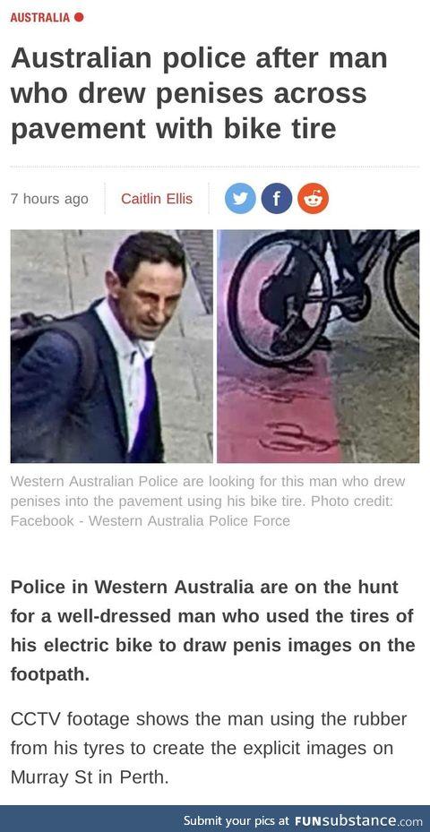 Beware, the Australian