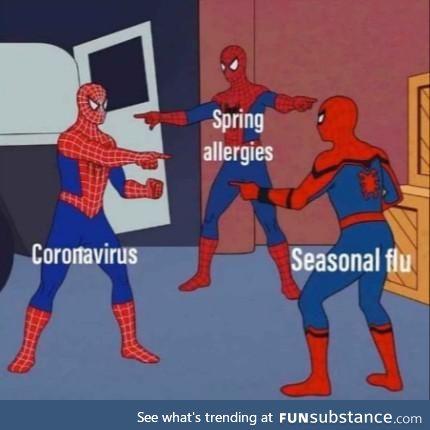 Tis' the season for the sneezin'