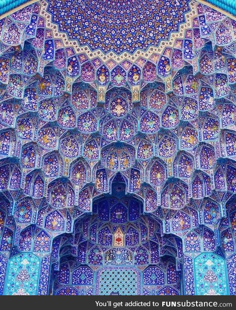 This mosque in Iran