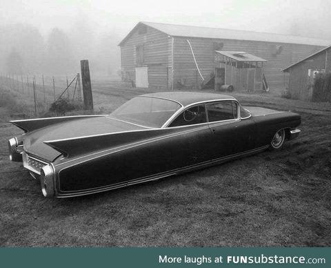 The sinister & devastatingly cool 1960 Cadillac Eldorado