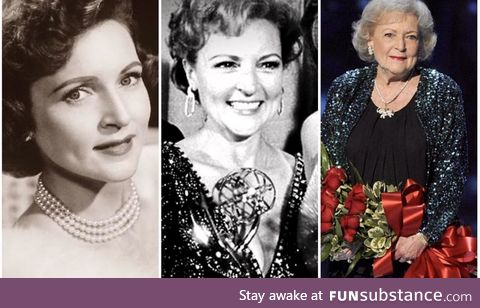 Turns 99 today. Betty White is young at heart, beautiful and funny