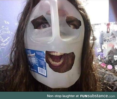 Need a quick Slipknot costume for Halloween?