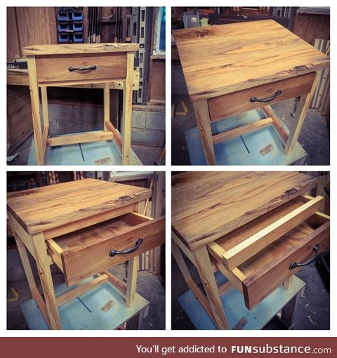 One of our more popular nightstands. What do you guys think?