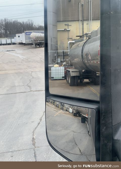 Trucker here, bringing 6900gal of ethanol to a hand sanitizer plant. Stay healthy,
