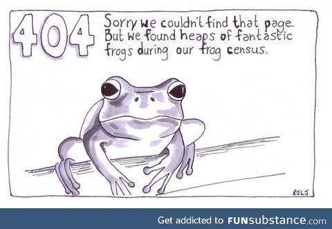 Froggo Fun #404 - Error: Post Not Found
