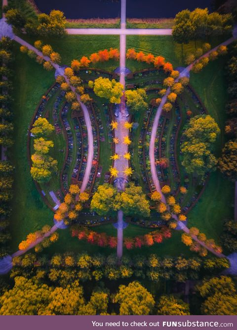Symmetry from above
