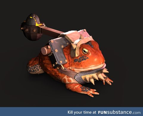 Froggo Fun #406 - Toad-buchet