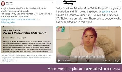 Why don't we murder more white people?