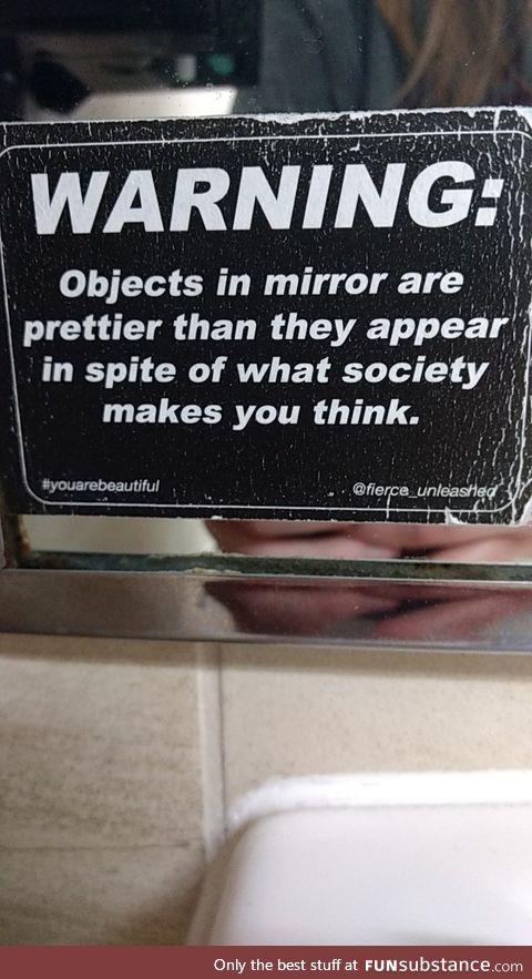 Found in a women's restroom in Ohio