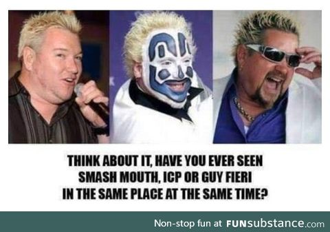 Hey now, there's a juggalo in flavortown
