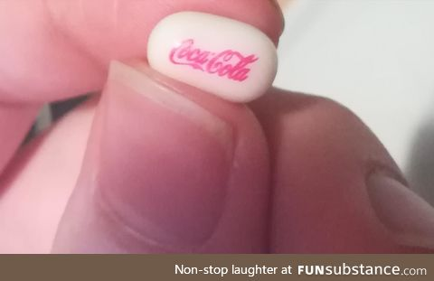 Limited edition Coca-Cola Tic-tac