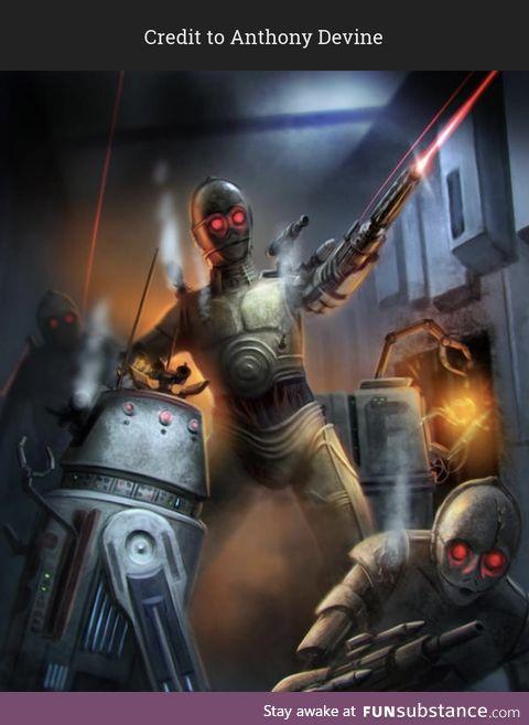We'd hate to get on C3PO's bad side!