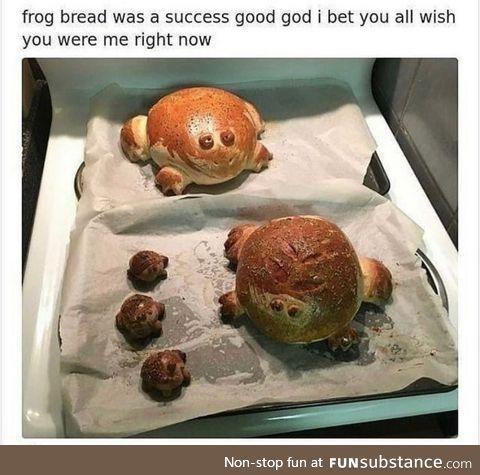 Froggy Frogg Bread