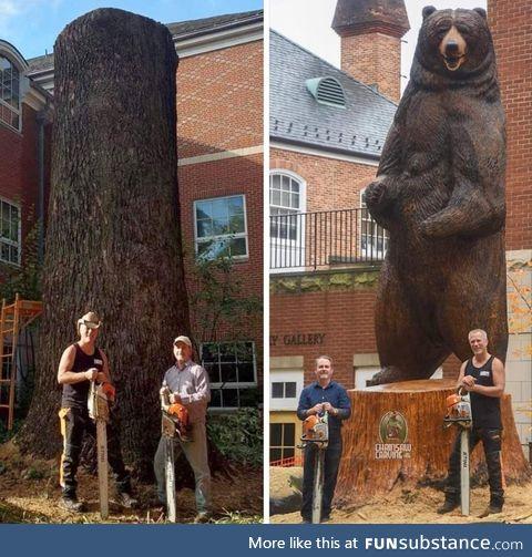 18 foot kodiak bear by Paul Waclo