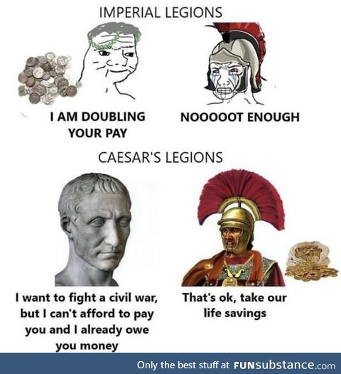 Anything for you Caesar
