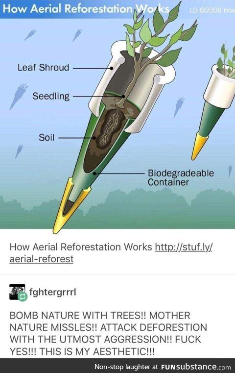 Literal tree bombs