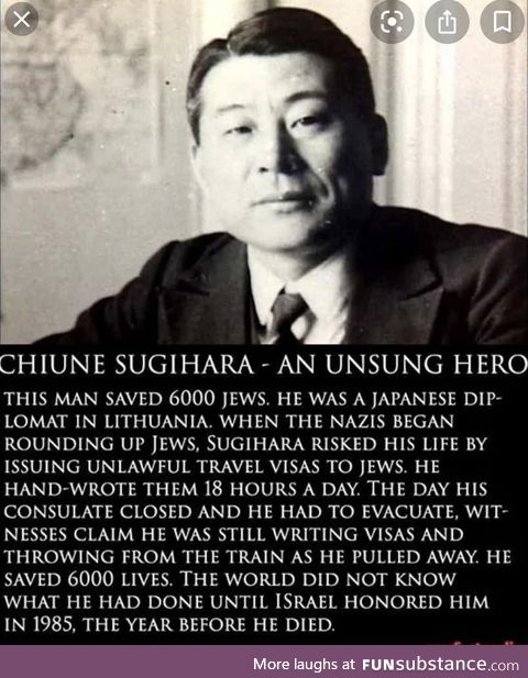 Chiune Sugihara a legend !