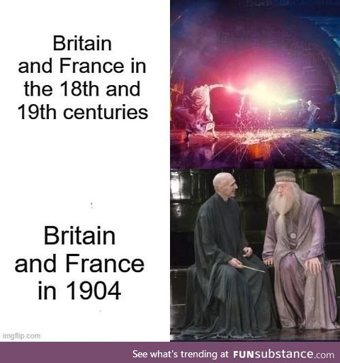 Britain and France are allies?! What kind of sorcery is this?!