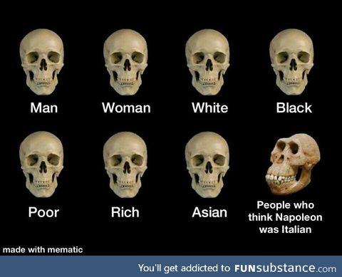 Napoleon was Corsican