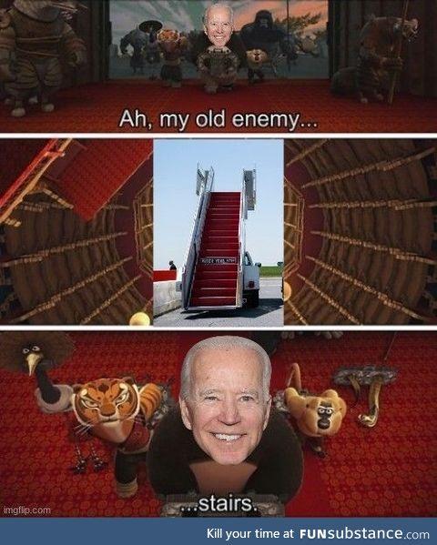 Next time Biden enters AF1