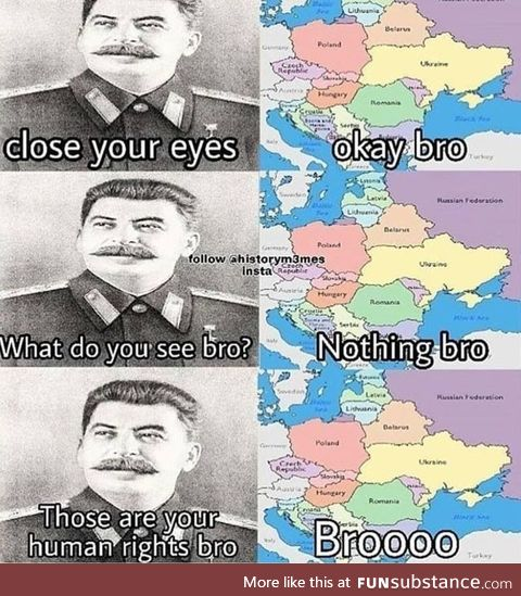 Stalin was a meanie