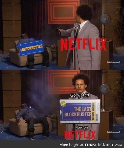 Birth of a Netflix original series
