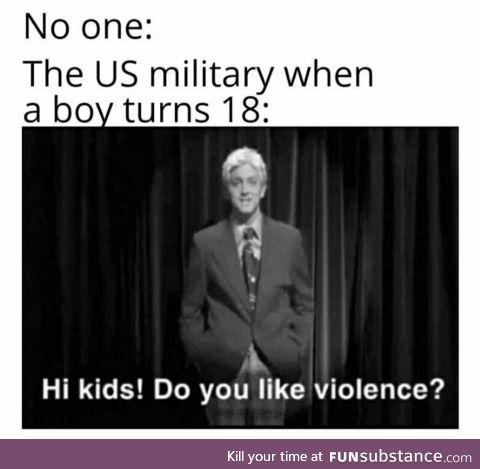 Military go brr