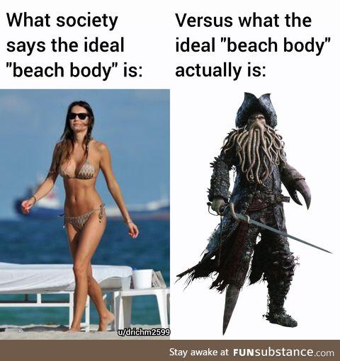 Reject bikinis. Embrace cursed captains