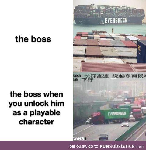 Woah step ship