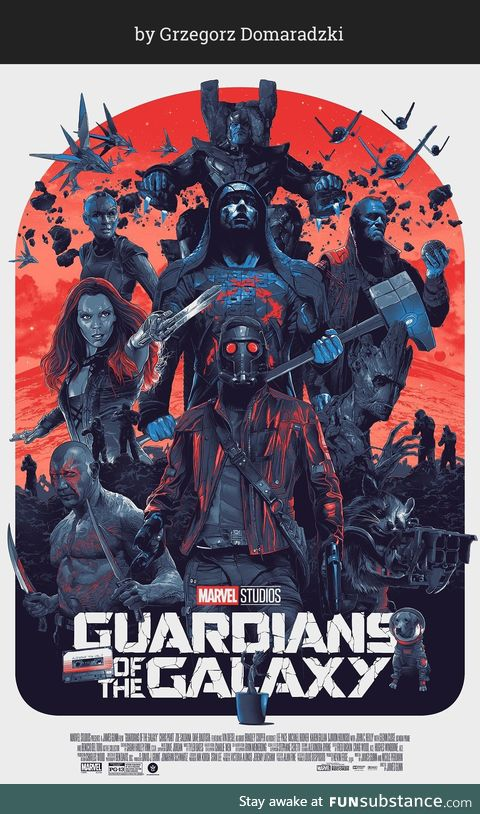 Great Guardians Of The Galaxy art !