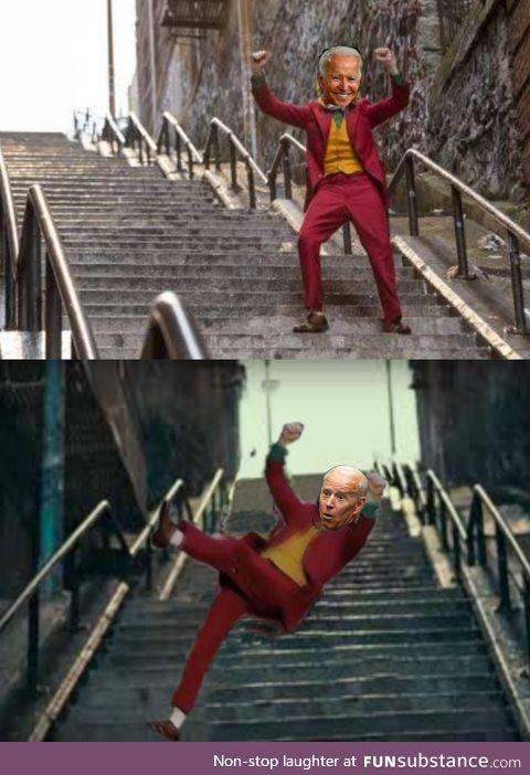 Watch your step Joe