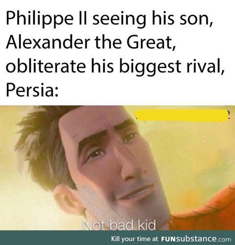Macedonian moment