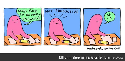 A lack of productivity