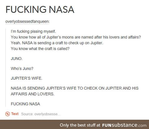Well played NASA