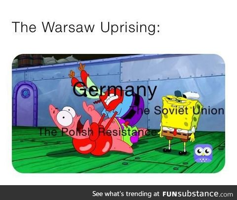 The Polish did fight hard though