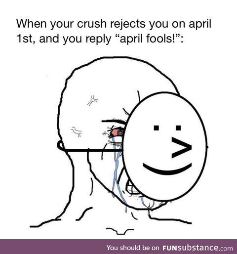 *visible sadness*