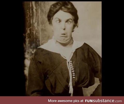Cheeky AF Victorian madam, circa 1844