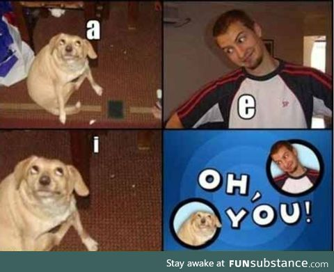 Vowels are fun
