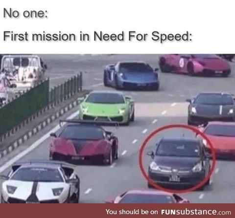 Need for speed limit