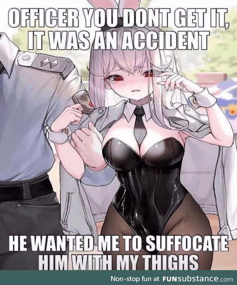 A true modern crime
