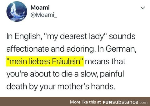 Fun facts about german, Pt. VI.